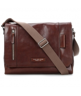 The Bridge card-board Man messenger bag