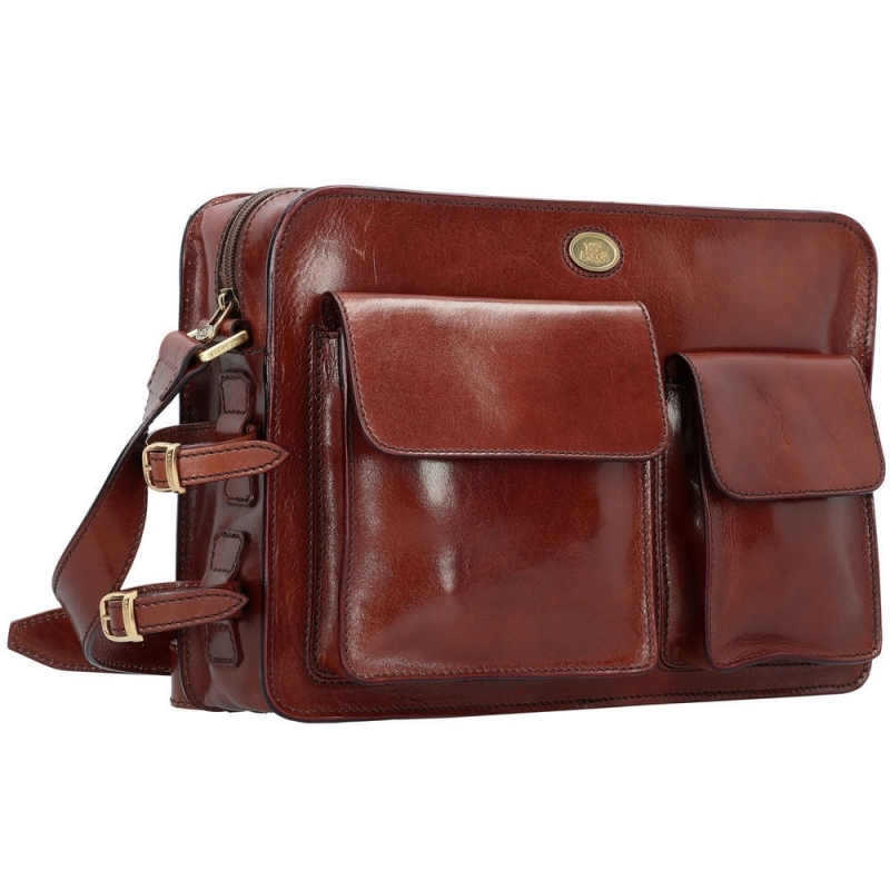 65749c75ed The Bridge Story Uomo borsa messenger in pelle 05440901 | eBay