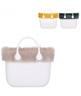 Or bag edge faux fur vulpecula