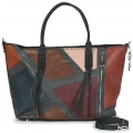 Borsa Desigual shopping with shoulder strap model patch