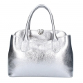 Bag, Patrizia Pepe genuine leather model with hand strap