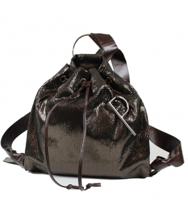 Bag Backpack Bucket Patrizia Pepe with sequins