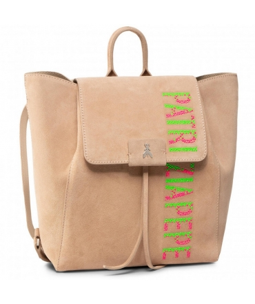 Bag Backpack Patrizia Pepe suede leather with logo