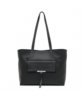 Bag Patrizia Pepe Shopping Flappy leather