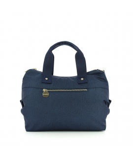 Bag duffle bag Borbonese Medium with shoulder Strap