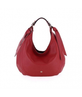 Hobo bag Borbonese hand in genuine leather