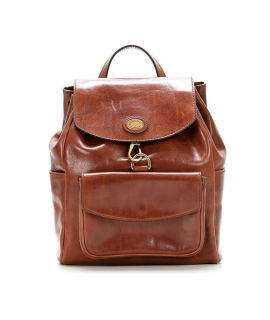 Bag Backpack The Bridge Woman in smooth leather
