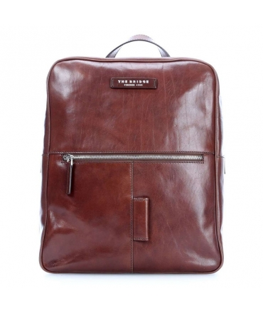 Rucksack von The Bridge Herren Business port notebook in leder